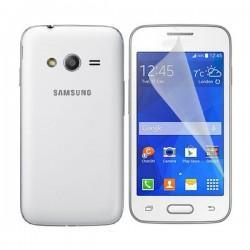 Silikon etui za Samsung Galaxy Trend 2 +Folija ekrana TPU 0,3mm Transparent barva