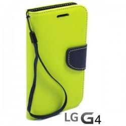 Preklopna Torbica Fancy za LG G4 Limona barva