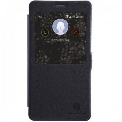 Etui Nillkin za Samsung Galaxy Note 4 S-Wiew Črna barva