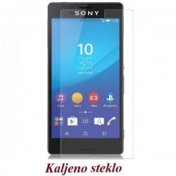 Zaščitno kaljeno steklo za Sony Xperia M4 Aqua Trdota 9H Premium