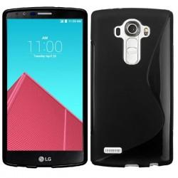 Silikon etui za LG G4 Črna barva