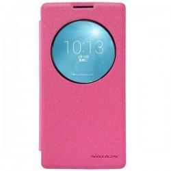 Etui Nillkin za LG Spirit S-Wiew Pink barva