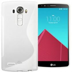 Silikon etui za LG G4 Transparent barva