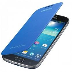 Torbica za Samsung Galaxy S4 Mini Flip Cover EF-FI919BCE, Modra barva