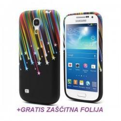 Silikon etui za Samsung Galaxy S4 Mini +Folija ekrana, Motiv Meteor