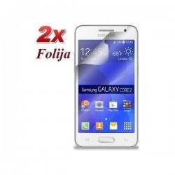 Zaščitna Folija za Samsung Galaxy Core 2, Duo Pack
