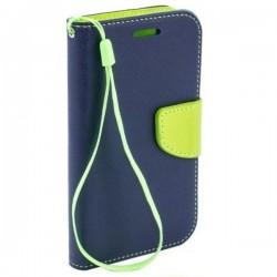 Torbica Fancy  za HTC Desire 320 Modra barva