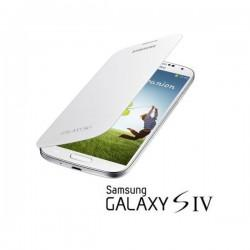 Torbica za Samsung Galaxy S4 Flip Cover EF-FI950BWEG, Bela barva