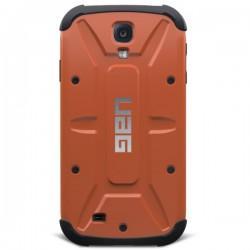Etui za Samsung Galaxy S4 Urban Armor Gear+ Folija ekrana, Rust-Black