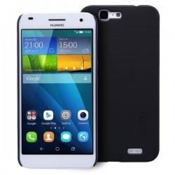 Etui Nillkin za Huawei Ascend G7+ Folija ekrana, Črna barva
