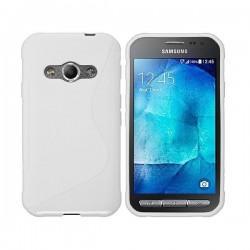 Silikon Etui za Samsung Galaxy Xcover 3, Bela barva
