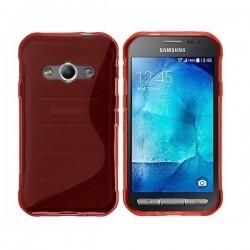 Silikon Etui za Samsung Galaxy Xcover 3, Rdeča barva