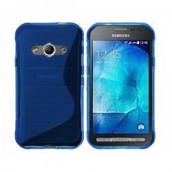 Silikon Etui za Samsung Galaxy Xcover 3, Modra barva