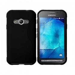 Silikon Etui za Samsung Galaxy Xcover 3, Črna barva