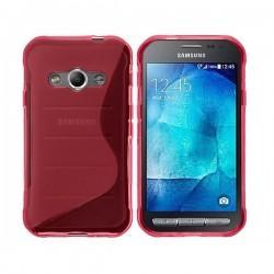 Silikon Etui za Samsung Galaxy Xcover 3, Pink barva