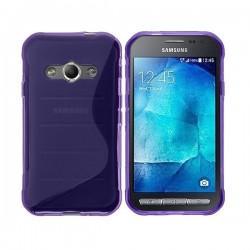 Silikon Etui za Samsung Galaxy Xcover 3, Vijola barva