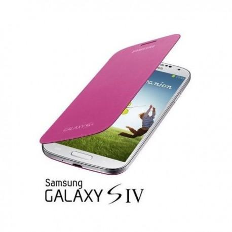 Torbica za Samsung Galaxy S4 Flip Cover EF-FI950BPEG, Pink barva