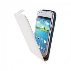 Preklopna Torbica za Samsung Galaxy Core +Zaščitna folija, Bela barva