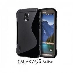 Silikon etui za Samsung Galaxy S5 Active, Črna barva