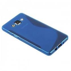 Silikon etui za Samsung Galaxy A5, Modra barva