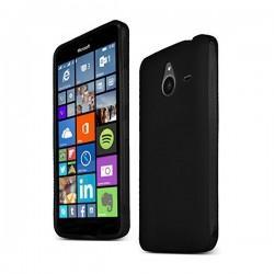 Silikon Etui za Microsoft Lumia 640 XL, Črna barva