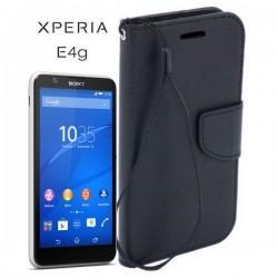 Torbica Fancy za Sony Xperia E4g, Črna barva