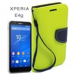 Torbica Fancy za Sony Xperia E4g, Zelena barva