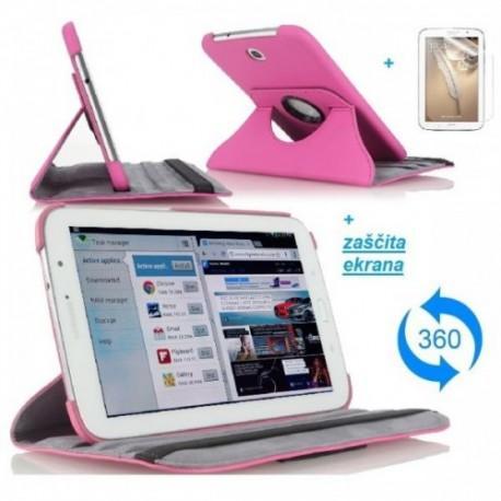 Torbica za Samsung Galaxy Note 8.0 (N5100,N5110) Vrtljiva 360 Book Cover ,Pink barva