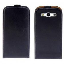Torbica za Samsung Galaxy S3, Preklopna, črna barva
