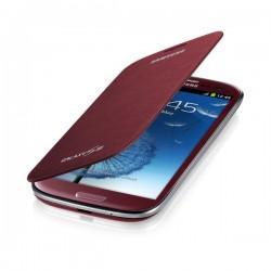 Torbica za Samsung Galaxy S3, Flip Cover Samsung EFC-1G6FR, Rdeča
