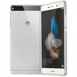 Silikonski etui za Huawei Ascend P8 Silikon+ Folija ekrana, 0,3mm, Prozorna barva