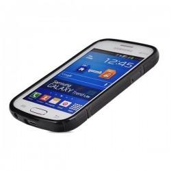 Silikon etui za Samsung Galaxy Trend Lite, Črna barva