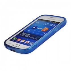 Silikon etui za Samsung Galaxy Trend Lite, Modra barva