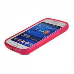Silikon etui za Samsung Galaxy Trend Lite, Pink barva