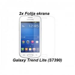 Zaščitna Folija za Samsung Galaxy Trend Lite, Duo Pack