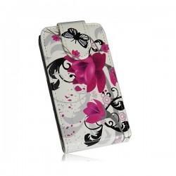 Torbica za Samsung Galaxy Trend Lite, Preklopna+ Zaščitna folija ekrana, Lady -Rose