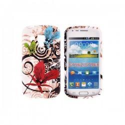 Silikon etui za Samsung Galaxy S Duos, Galaxy Trend +Folija ekrana , Flowers