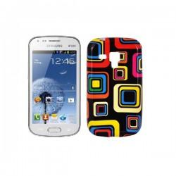 Silikon etui za Samsung Galaxy S Duos, Galaxy Trend +Folija ekrana , Kocka