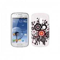 Silikon etui za Samsung Galaxy S Duos, Galaxy Trend +Folija ekrana , Circles