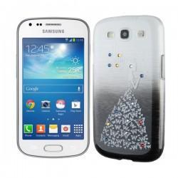 Silikon etui za Samsung Galaxy S Duos, Galaxy Trend +Folija ekrana , Lady Black