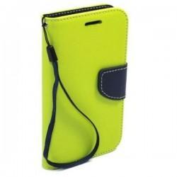 Preklopna Torbica Fancy za Sony Xperia Z1, Zelena barva