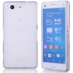 Silikon etui za Sony Xperia Z3 Compact +Folija ekrana, transparenten