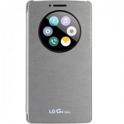 Etui za LG G4 Stylus, Quick Circle CFV-120, Titan Silver barva