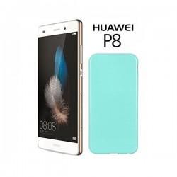 Silikon etui za Huawei Ascend P8, 0,5mm, Mint barva