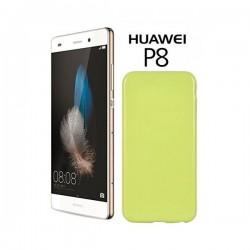 Silikon etui za Huawei Ascend P8, 0,5mm, Zelena barva
