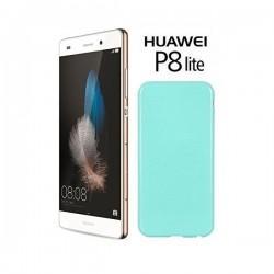 Silikon etui za Huawei Ascend P8 Lite, 0,5mm, Mint barva
