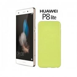 Silikon etui za Huawei Ascend P8 Lite, 0,5mm, Zelena barva