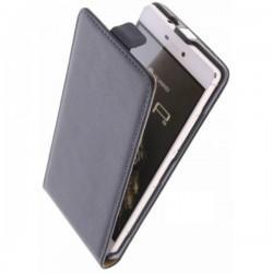 "Preklopna Torbica ""flexi"" za Huawei Ascend P8 Črna barva"