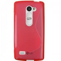 Silikon etui za LG Leon Rdeča barva