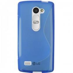 Silikon etui za LG Leon Modra barva